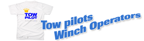 They don't fly until you say so! Click here to see our selection of tees for tow pilots and winch operators